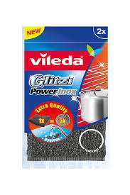 Vileda Power Pad 2'Li Inox